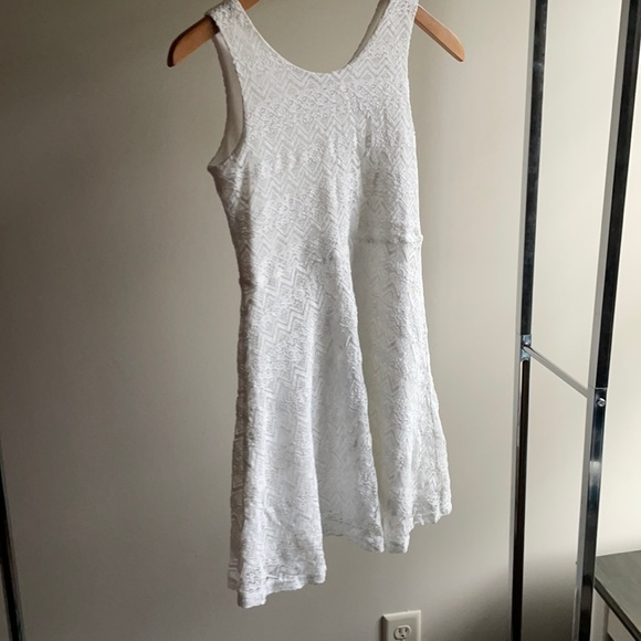 THE CHILDREN'S PLACE white lace party dress 10 12